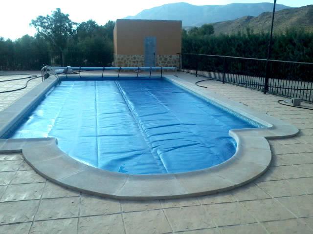 Lona de Burbujas para piscina