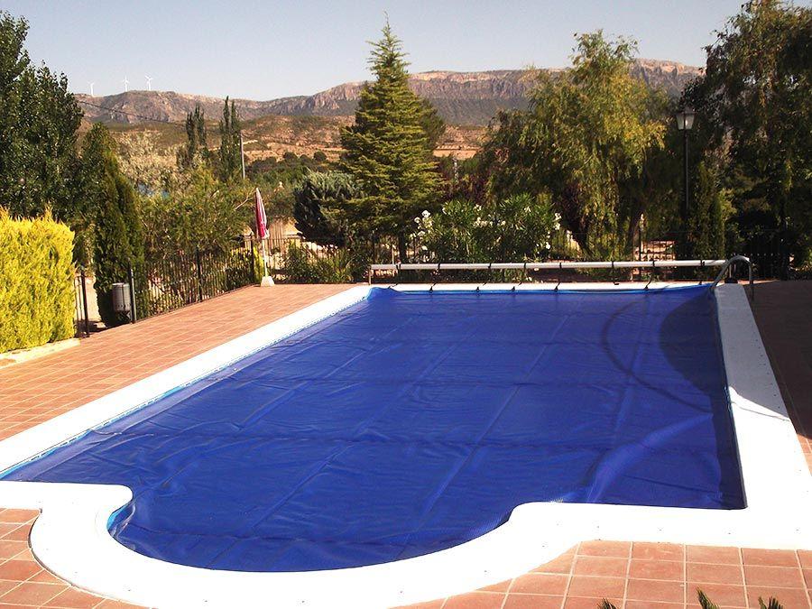 Manta térmica para piscinas