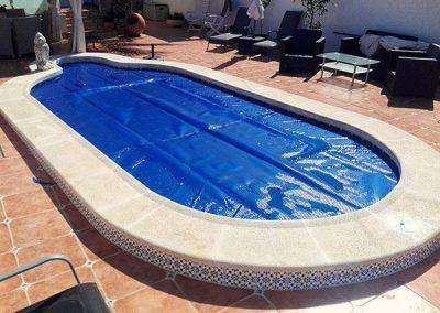 Lona de burbujas para piscinas