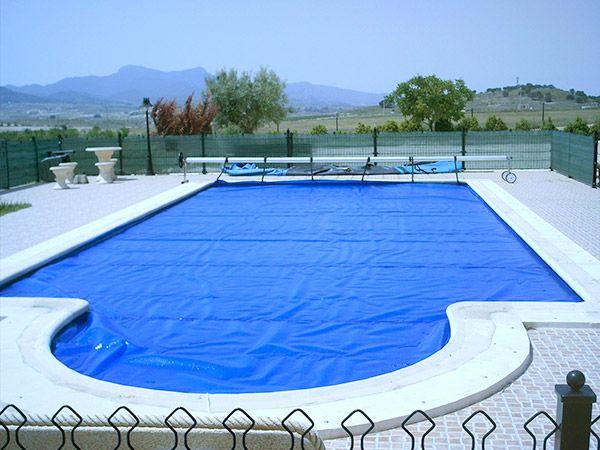 Lona de burbujas para piscinas - Jumitoldo