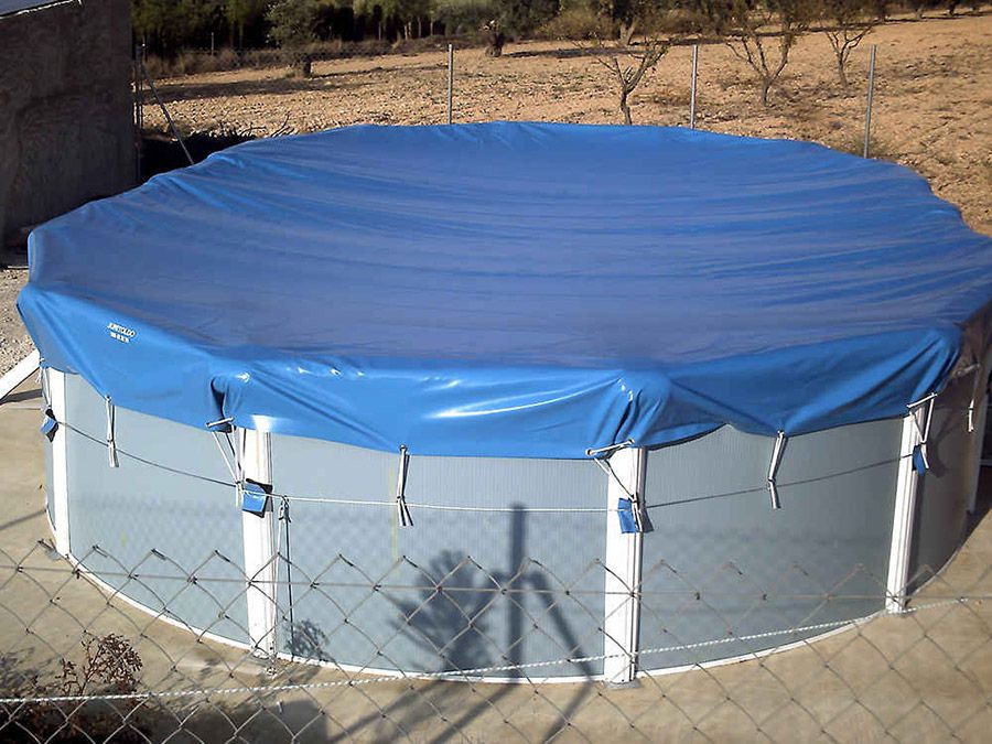 Lona para tapar piscina top cdigo postal tlf av for Piscina lona rectangular