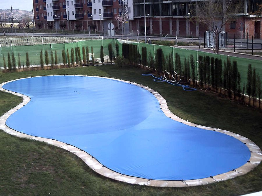 Lona para piscinas
