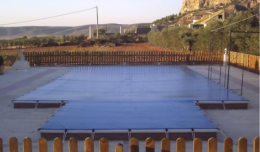 Mantas para piscinas