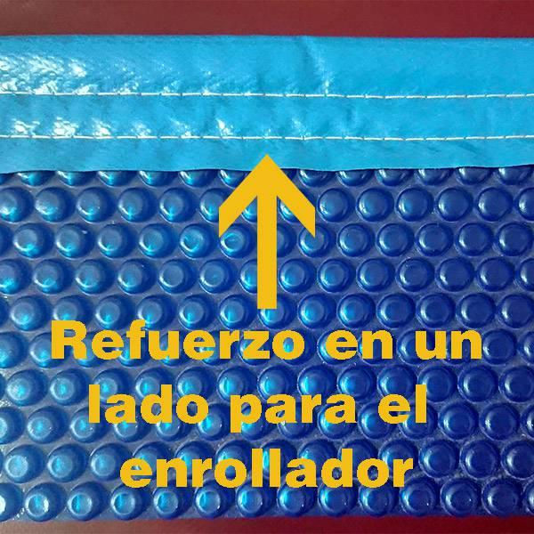 Manta termica piscina 8x4 azul jumitoldo manta t rmica piscinas carpas y toldos - Mantas para piscinas ocasion ...