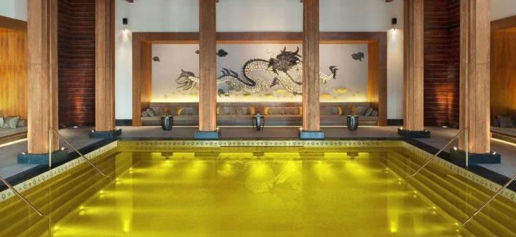 piscina dorada tibet, Jumitoldo