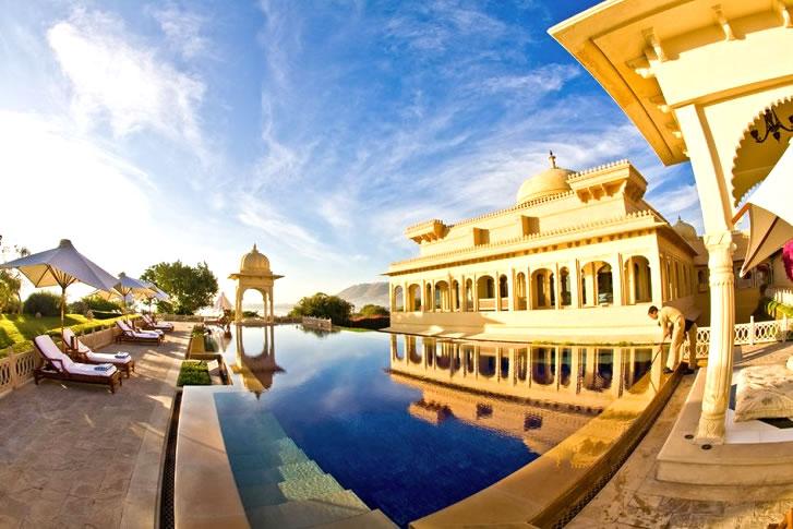 piscina de lujo en India, Jumitoldo