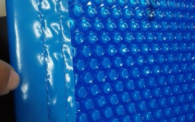 How many types of solar pool covers for swimming pools are there?
