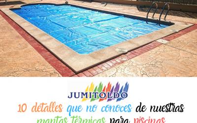 10 detalles de nuestras mantas térmicas para piscinas que no sabías
